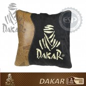 #DK30114 Leather fabric Dakar Licensed Car Travel Blanket