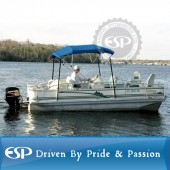 #86447 Deluxe 600D polyester 4-Bow Boat Bimini Top