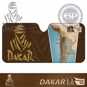 #DK30107 Standard size Dakar Licensed Car Bubble Sunshade