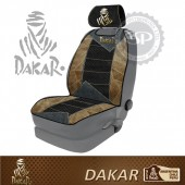 #DK30104 Leather fabric Dakar Licensed Car Seatanks seat cushion