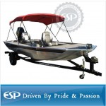 #86332 600D Polyester 3-Bow Boat Bimini Top