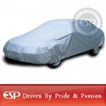 #65651 XCAR Solar Shield Breathable UV Protection Car Cover Fits Cars Up To 200 Inch In Length-With Gust Guard Strap